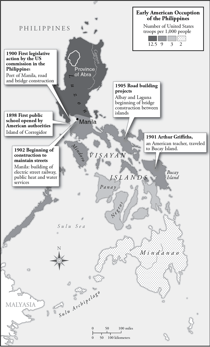 early American occupation of the Philippine Islands